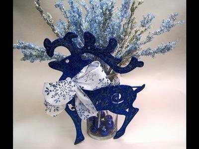 Reindeer Vase ~ Featuring Miriam Joy