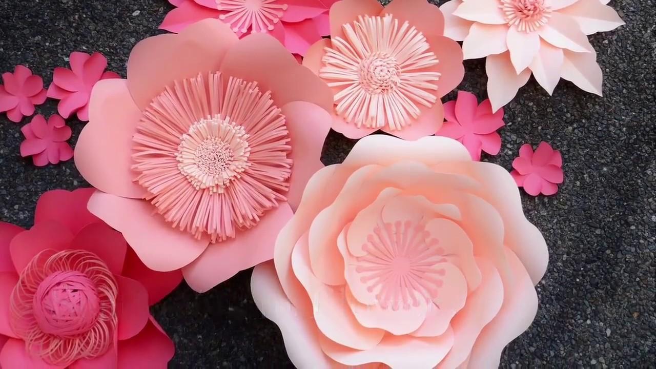 Тебя, изготовление цветов для украшения открыток
