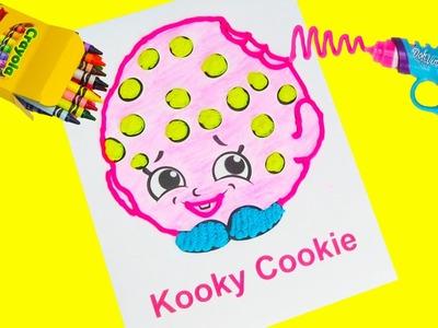 Shopkins Kooky Cookie with Doh Vinci