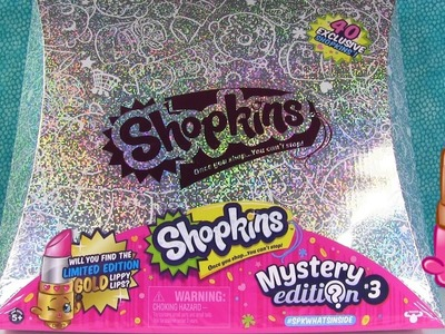 Shopkins Mystery Edition #3 Unboxing Season 1 Glitter Limited Editiion Hunt | PSToyReviews