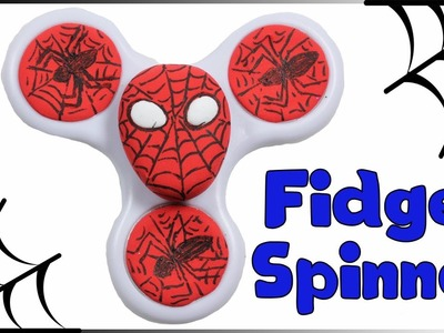 Spider-Man Fidget Spinner | How To Decorate Spinner