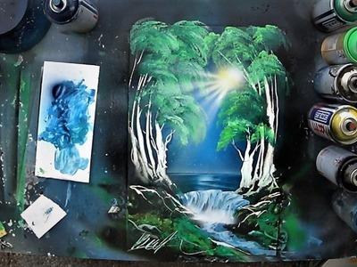 Spray Paint ART - Essence of Forest 3D