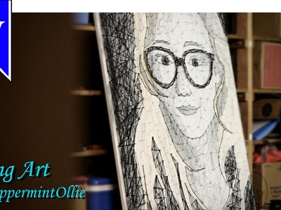 String Art Portrait - for PeppermintOllie