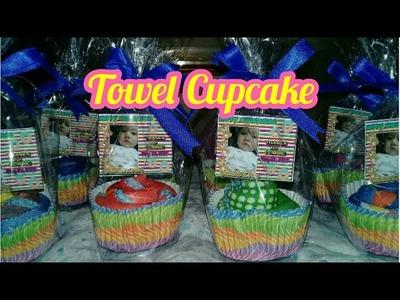 Towel Cupcake Tutorial- VERY EASY!!!