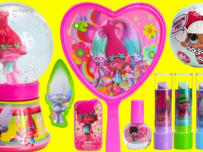 Trolls Glitter Globe and LOL Doll Suprrises