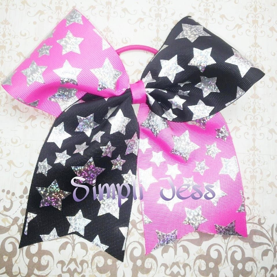 Two toned cheer bow tutorial