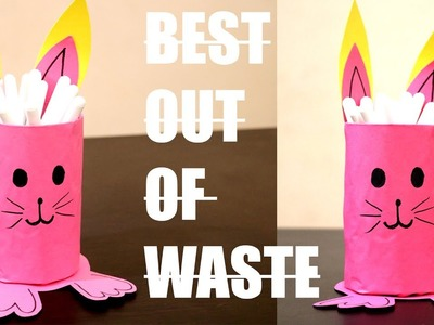 Bunny Pen Holder | Creative Craft | Best out of Waste | DIY