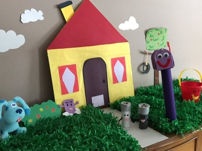 DIY Blue's Clues House  a Cool Kids Birthday Party Decoration