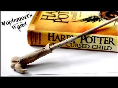 DIY Lord Voldemort's Wand| Polymer Clay Tutorial