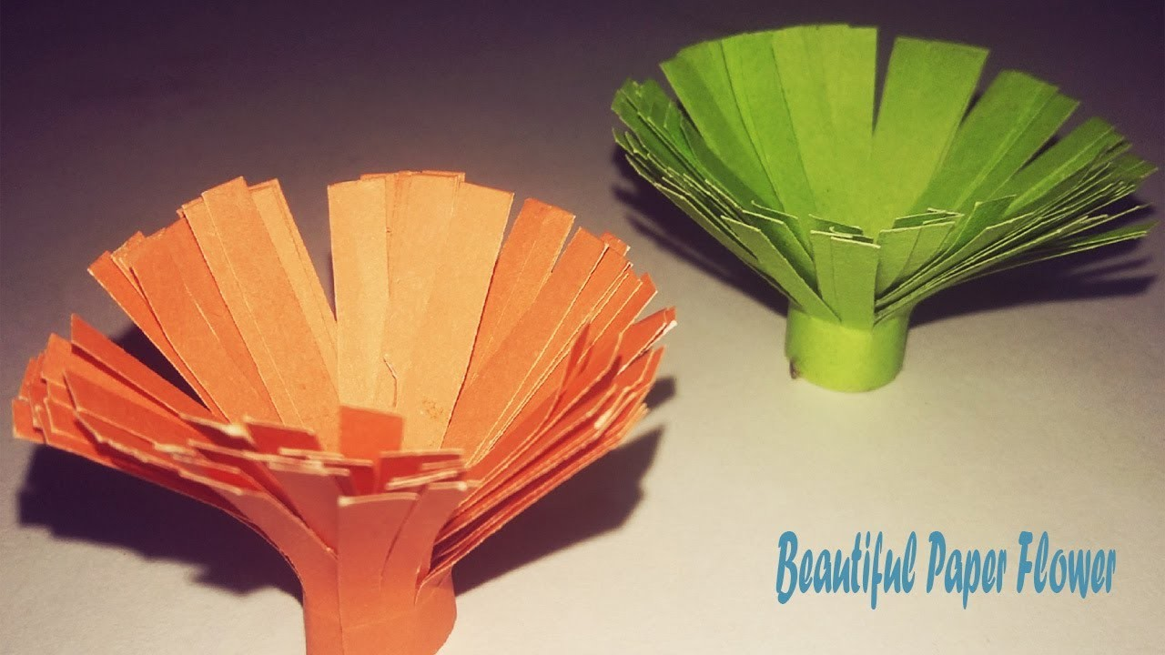 Easy Paper Flower Making Tips For Kids How To Make Crepe Paper
