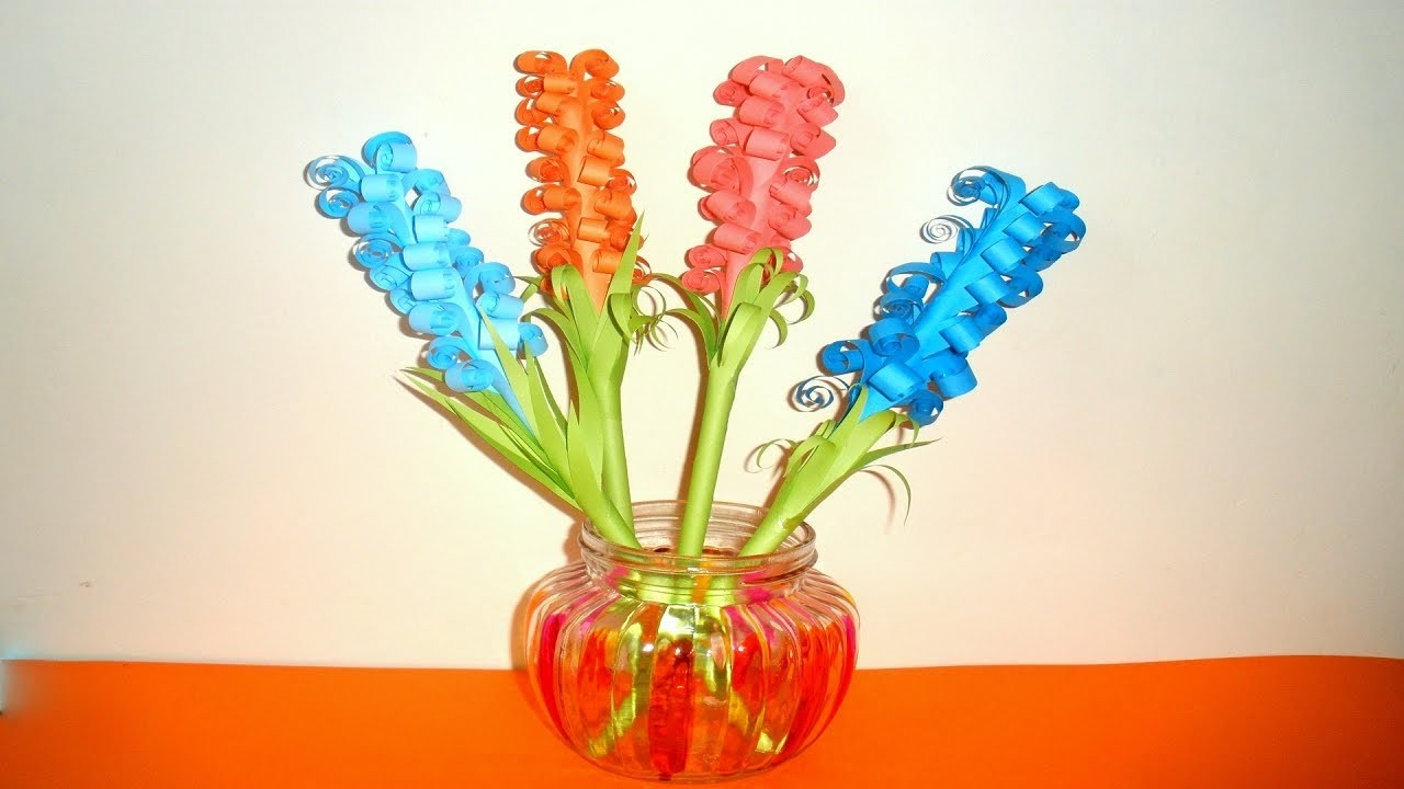 Easy Quilling Paper Flower Making How To Make Origami Flower