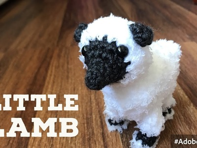 How to Crochet a Sheep Amigurumi - Easy Step by Step Tutorial