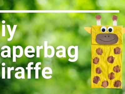 How to make a PaperBag Giraffe
