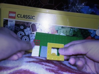 How to make a  spinner of  lego with CLASSIC 10696