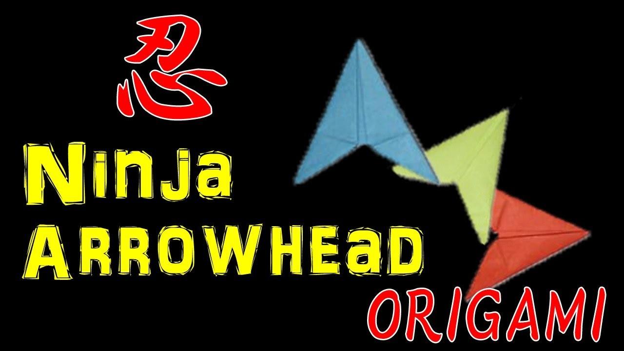 How To Make Ninja Paper Arrowhead Flying Flicker