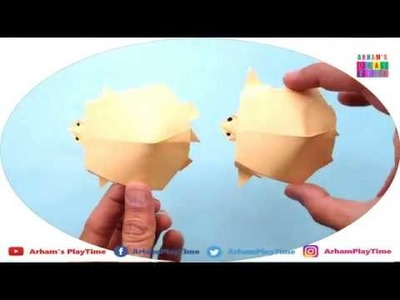 How To Make Paper Turtle or Tortoise Easy