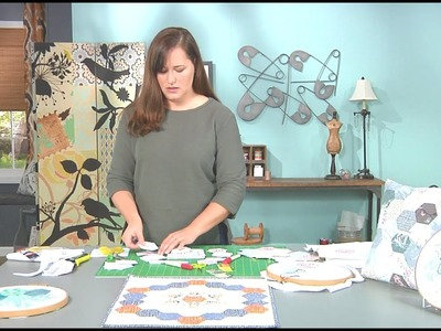 How to Sew on the Go with Dritz English Paper Piecing Shapes – As seen on It's Sew Easy
