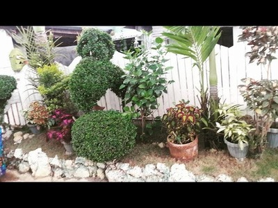 MY EASY DIY GARDEN LANDSCAPING. small space LANDSCAPING.Pinay Home
