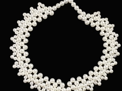 Pearl Necklace Tutorial Quick And Easy Make At Home