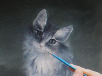 Cat (Speed Painting) by Olena Ivanytska