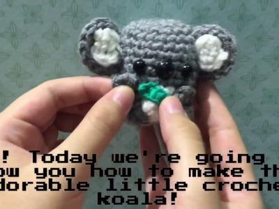 DIY Crochet Koala
