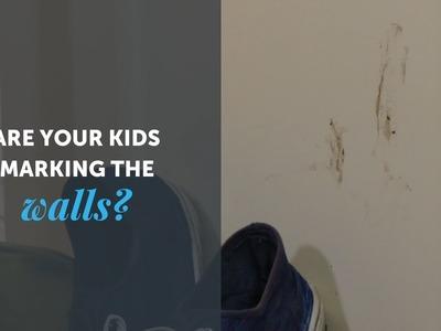 DIY Hacks - Cleaning Wall Marks