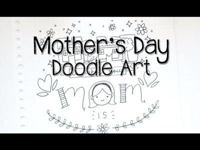 Doodle Word Art for Mother's Day~ | Doodle with Me