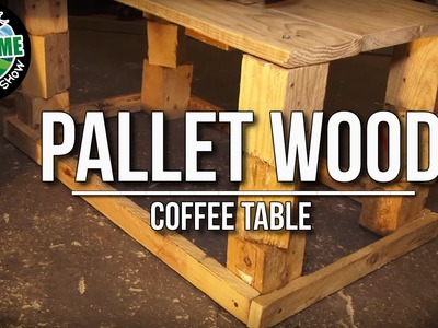 How to build a FREE Garden Table from recycled pallet wood | TA Outdoors