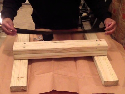 How To Build A Homemade Calf Raising Block!! Very Cheap and Easy!!