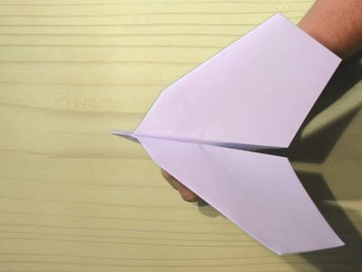 How to Make a Air Hopper Paper Airplane