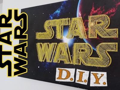 How To Make a Star Wars Decor - DIY Star Wars