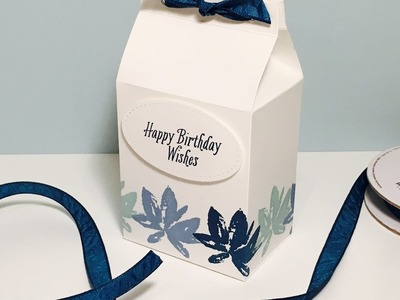 Lovely Gift Box with Avant Garden by Stampin' Up