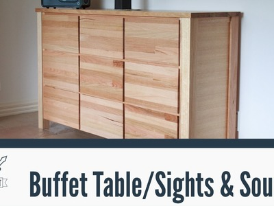 082 - Sounds of the workshop (Buffet Table build)