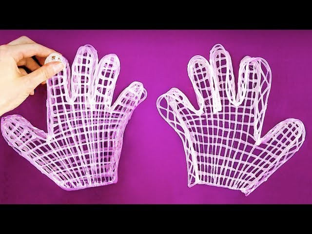 40 CRAZIEST DIYs AND LIFE HACKS YOU'VE EVER SEEN || HOT GLUE GLOVES