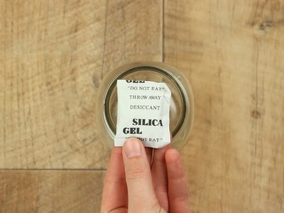 6 great reasons to hold on to those silica gel packets