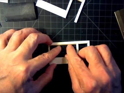 An O Scale Mid-Century Motel Scratch Build Part 2 - Installing Trim and Making Doors