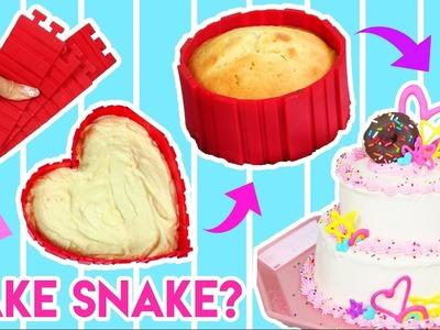 Bake a Cake in Any Shape?! ???? Testing Kitchen Gadget - Bake Snake