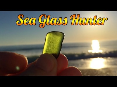 Beautiful Morning In Nags Head, NC With Lots Of Sea Glass Booty!