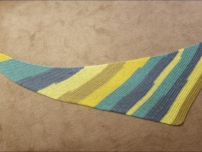 Boomerang Shawl Crochet Tutorial - Two Versions!