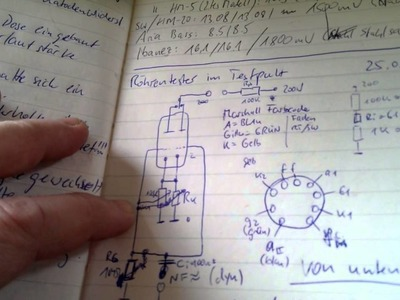 Building an easy ECC83 tube tester Pt 1