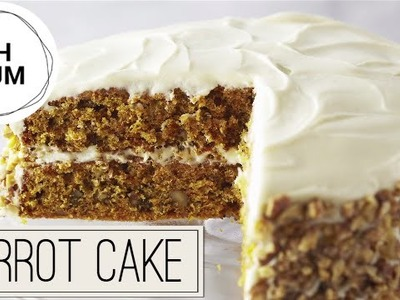 Carrot Cake with Cream Cheese Frosting | Oh Yum with Anna Olson