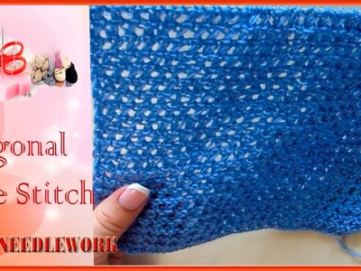 Diagonal Lace Stitch