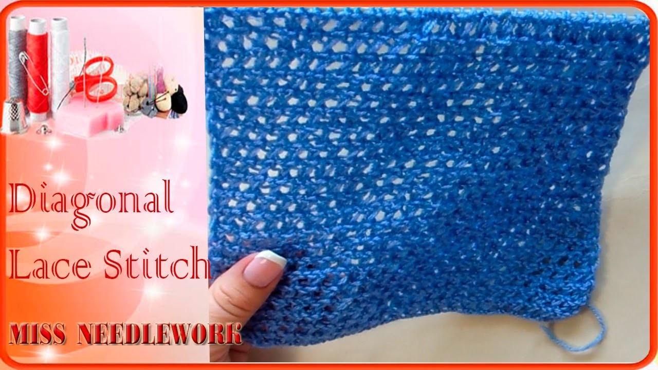 Diagonal Lace Stitch