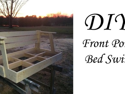 DIY bed swing  from $20 Crib Matress.
