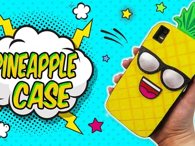 ♥ DIY: Pineapple Mobile Case #SummerTime ♥