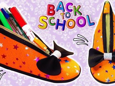♥ DIY: Shoe Pencil Case    Back to School ♥
