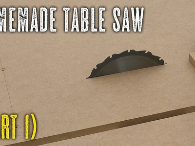 DIY Table Saw - Base and sled (part1)