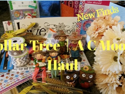 Dollar Tree | A C Moore Haul | New Finds