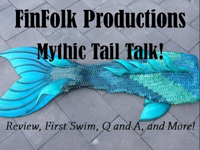 Finfolk Productions Teal Mythic Tail Talk-Review, Unboxing, and More