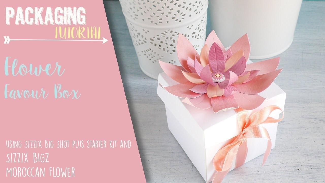 Kit, Flower Favor Box for Wedding - Sizzix Big Shot Plus Starter Kit ...